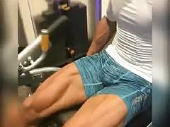 Quadriceps full amplitude bulge