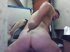 JoeyD, Butt Dimples, wide anal gaping, Hott Straight Boy