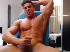 Muscle Carlos Rudy cumshot