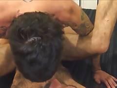 Tatooed gay fucked hairy gay