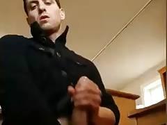 Dildo fuck and cumming