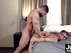Horny Jay Austin wants every bulging part of Damien Stone