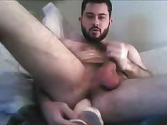 PopperCub Fucks his Dildo and Cums