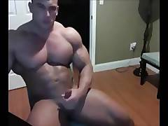 Muscle hunk show