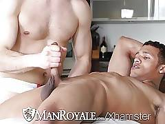 ManRoyale Kevin Blaise pounds Jason Maddox tight ass