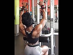 ebony muscle goddess