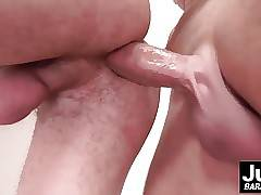 Adorable twink Pavez gets his asshole destroyed by fat cock