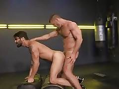Landon Conrad and Adam Ramzi (Cock Fight)