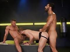 Landon Conrad, Shawn Wolfe, and Adam Ramzi (Cock Fight)