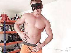 Maskurbate Str8 Stud Offered Modeling Gig- And he Jerks Off!