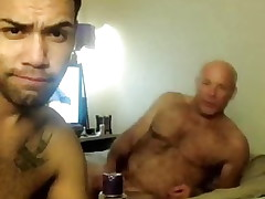 Daddy Enjoys Young Cock