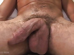 Hairy Alex Camp solo with big cock