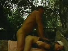 Granjero mostachon follando a chico