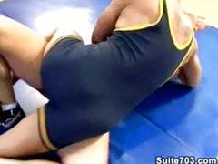 Latino Hunks - Wrestling coach + 2 students