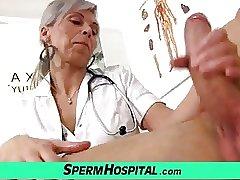 мама лечит сына минетом в больнице