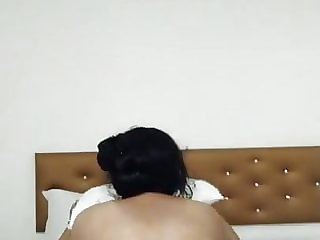 Desi Immense Culo Bhabhi riding of Bf beefwhistle in motel