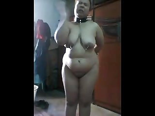 nude dumb large indian pig self-humiliation 1