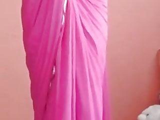 Srilanka saree lady