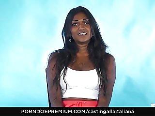 Audition ALLA ITALIANA - Indian honey insatiable interview
