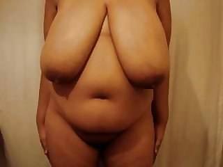 Immense indian saggy hooter havefun