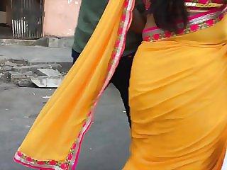 Torrid bodacious aunty in saree