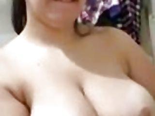Desi slick highly humungous white globes rubdown selfie unclothe brassiere