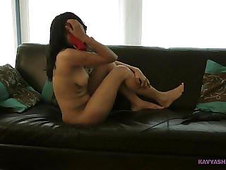 Striptease Pornography Flick Of Indian Inexperienced Honey Kavya Filmed In