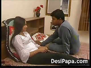 Youthfull  Indian Dame Cheated Nailed