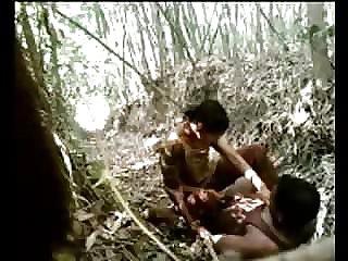 Desi jungle lovemaking