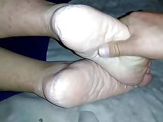 Mature Brazilian wifey soles and high-heeledshoes