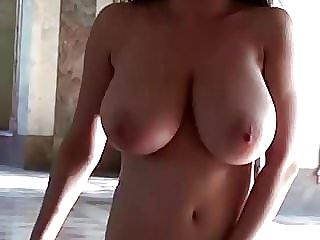 naked female walk