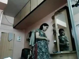 Chetna Bhabi Switching Raiment Hidden Cam