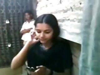 Bangladeshi School Student's Giving A Kiss Flicks - 7