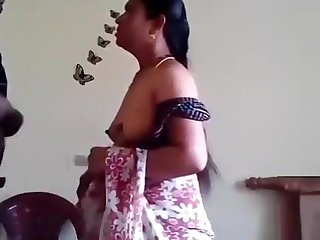 Unsatisfied Aunty Ji Penetrate With GF's