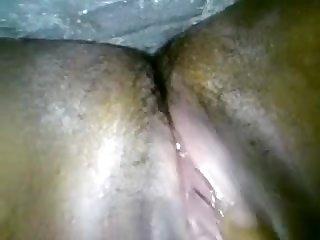Indian slim floozy milks on throne-room