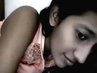 Desi fabulous school beauty Avantika on web camera