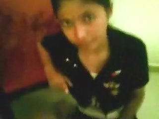 Desi Manipuri angel devouring her paramour's wang
