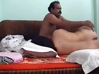Pakistani Big Wazoo Bhabhi Trying Sausage Railing