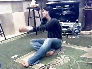 Arab beauty dancing