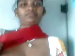 Indian Villager Displays her bod