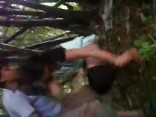 Desi Randi Plow In Jungle