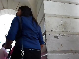 Indian Beau-ti In Cock-squeezing Denim Backsides GaanD