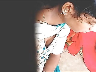 Tamil youthful doll deep funbags bosom 1