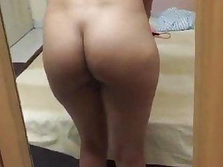 Desi Girlfriend heads bare