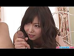 A hard cock rough fuck asian teen Megumi Shino