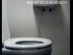 Martin on the toilet, Spy Cam