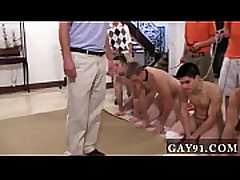 Hardcore gay The S** frat determined to put their pledges through a