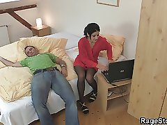 Aggressive bj and raunchy  for hotwife fuckslut