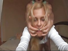 Sexy Blonde Sucks and Fuck