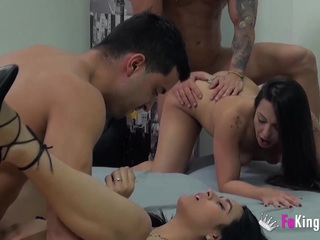 Bianca and Paul enjoy a brutal orgy